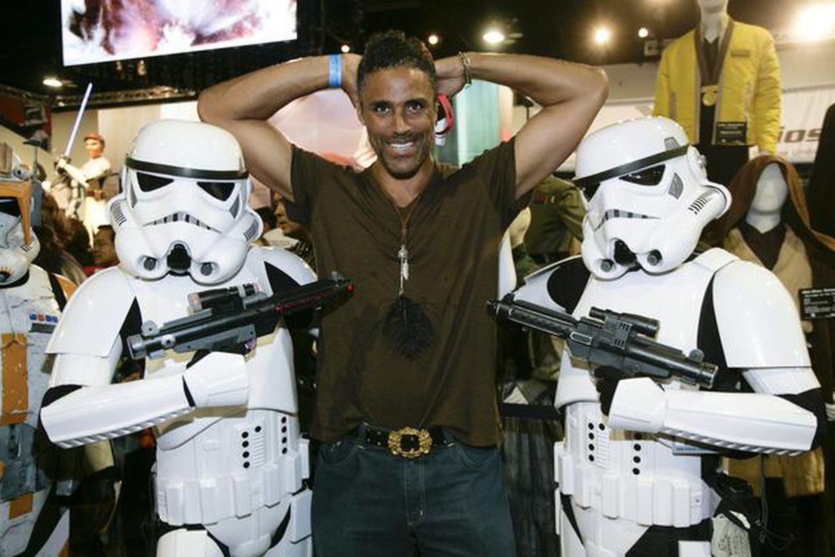 Rick Fox Comic-Con
