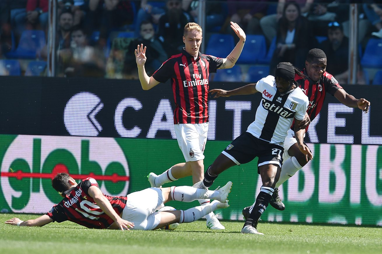 Match Recap: AC Milan blow late lead and draw 1-1 with Parma
