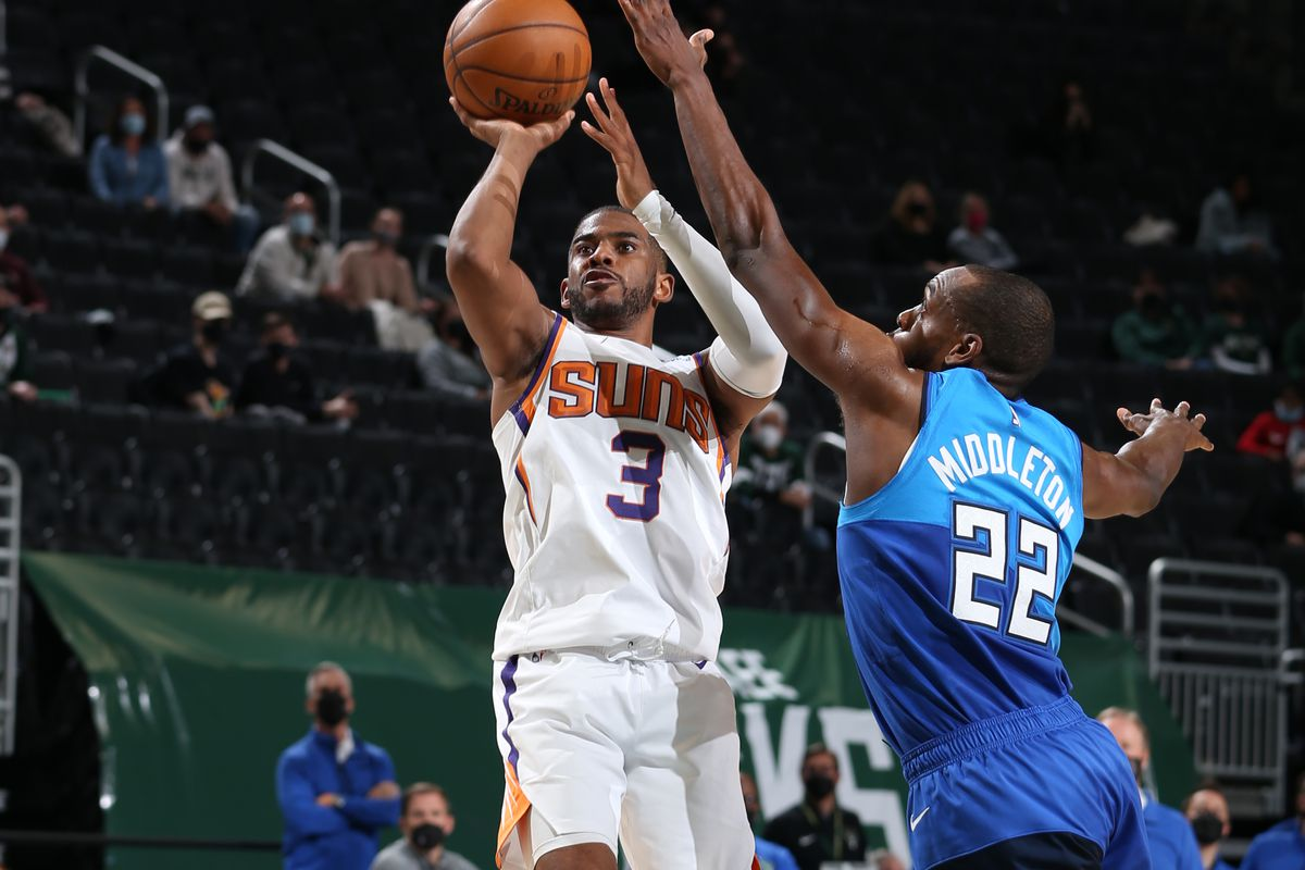 NBA Finals matchup set: Suns vs. Bucks - Bright Side Of The Sun