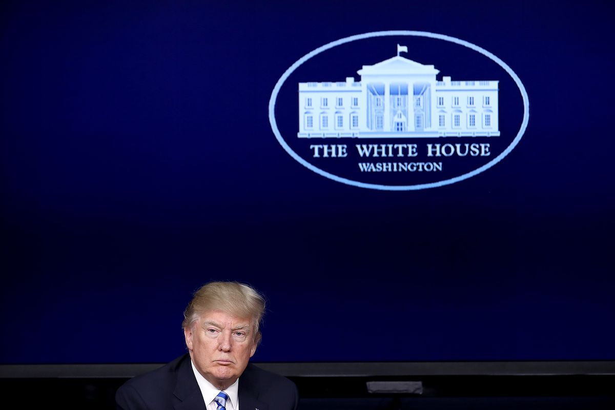 President Trump Holds CEO Town Hall On US Business Climate At White House