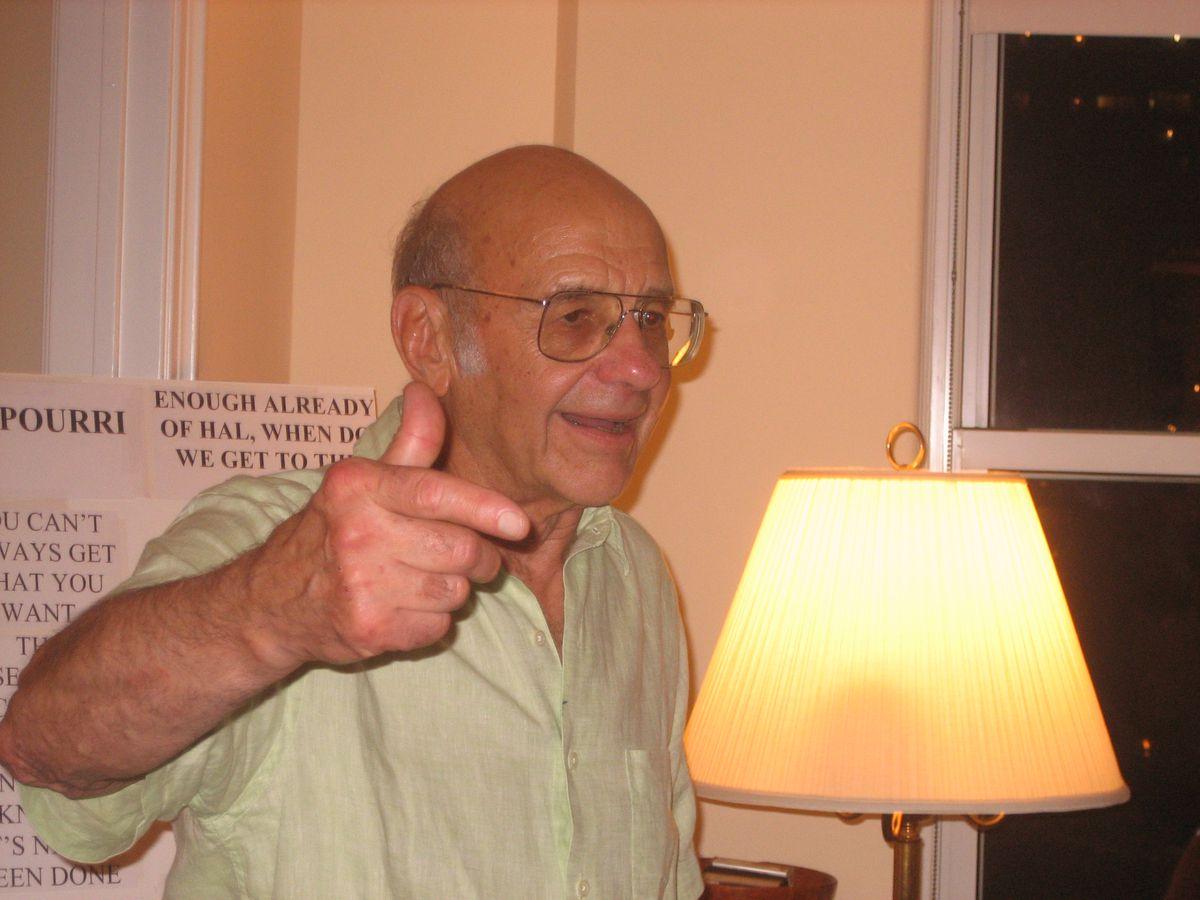 Hal Baron, valued adviser to many politicians. | family photo