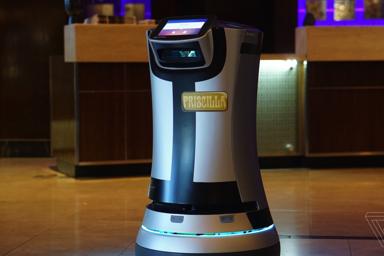 the relay hotel delivery robot will soon spot wi fi dead zones and mingle with guests