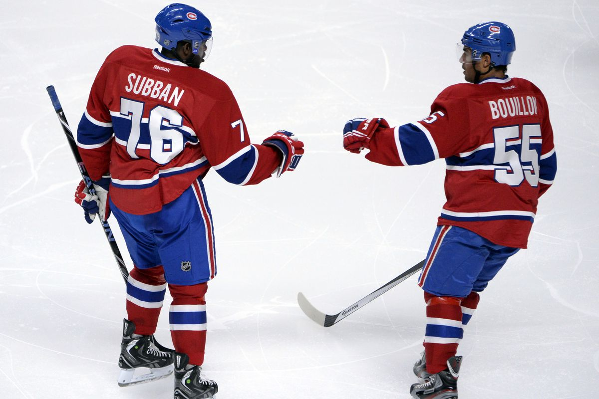 Could no. 76 be used more effectively on the Canadiens power play?