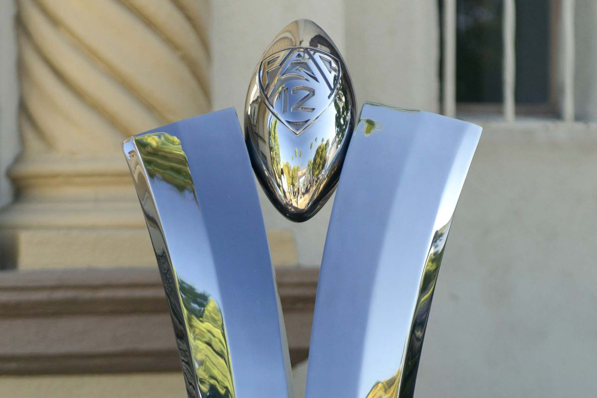 The Pac 12 Championship Trophy