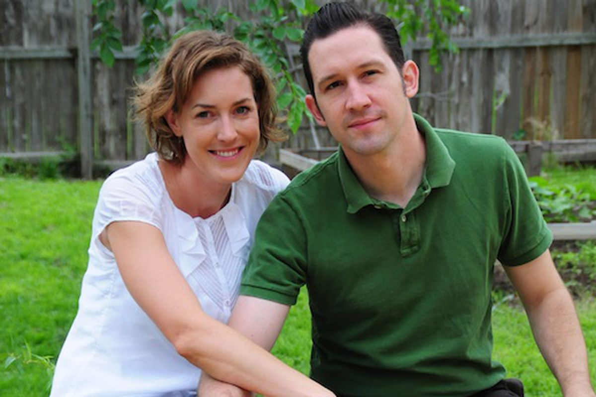 Jessica Maher and Todd Duplechan.