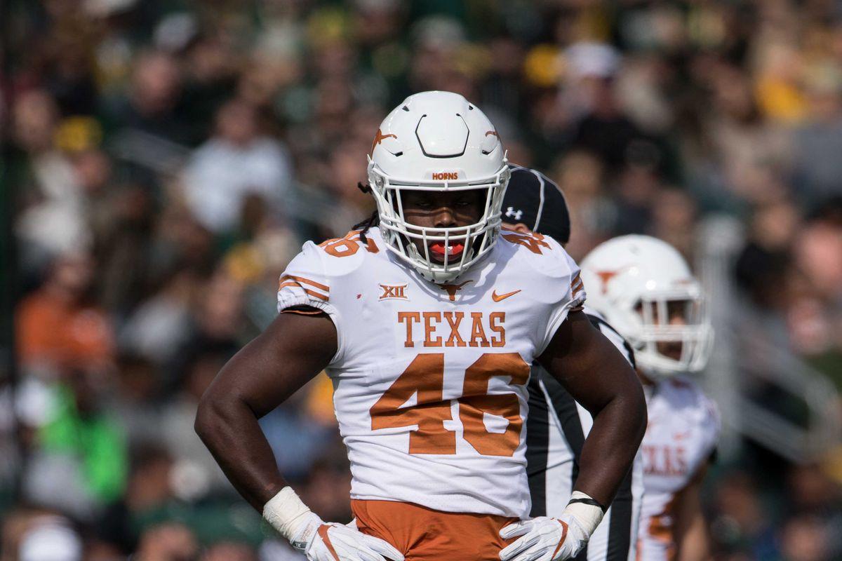 NCAA Football: Texas at Baylor
