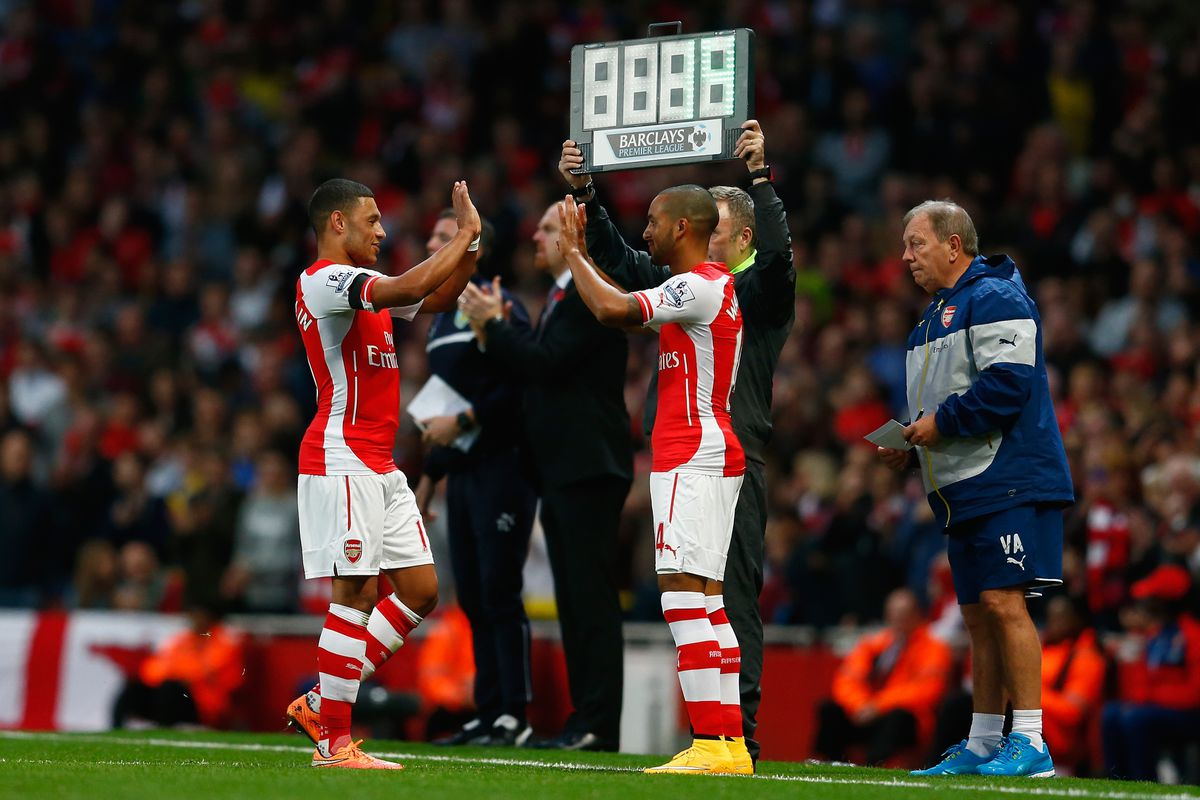 Changing of the guard? Now that Walcott's back, how should Arsenal lineup?