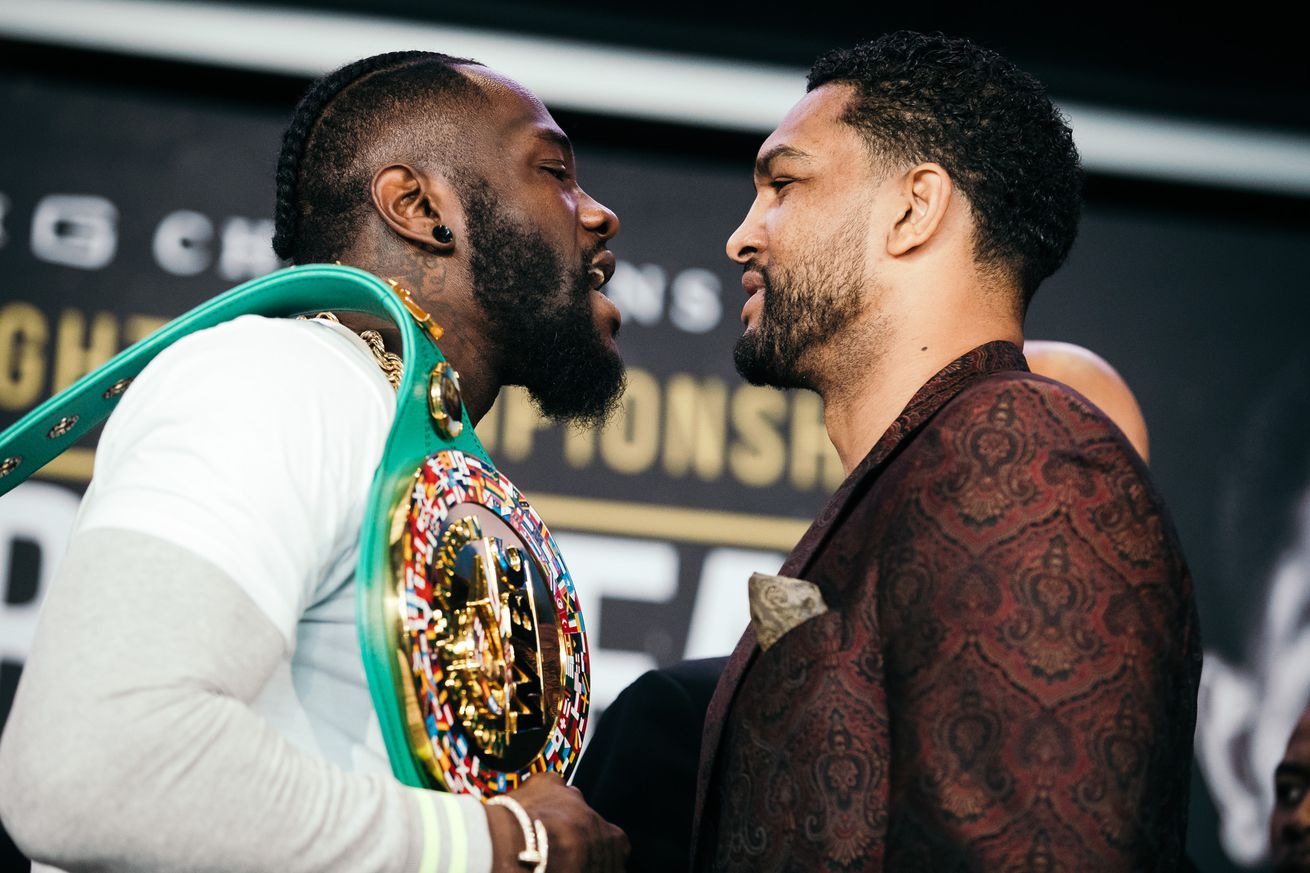 press conference 0029.0 - WBC to address Wilder's death threats in a hearing