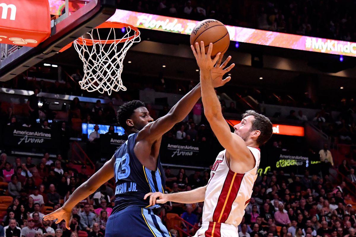 NBA: Memphis Grizzlies at Miami Heat