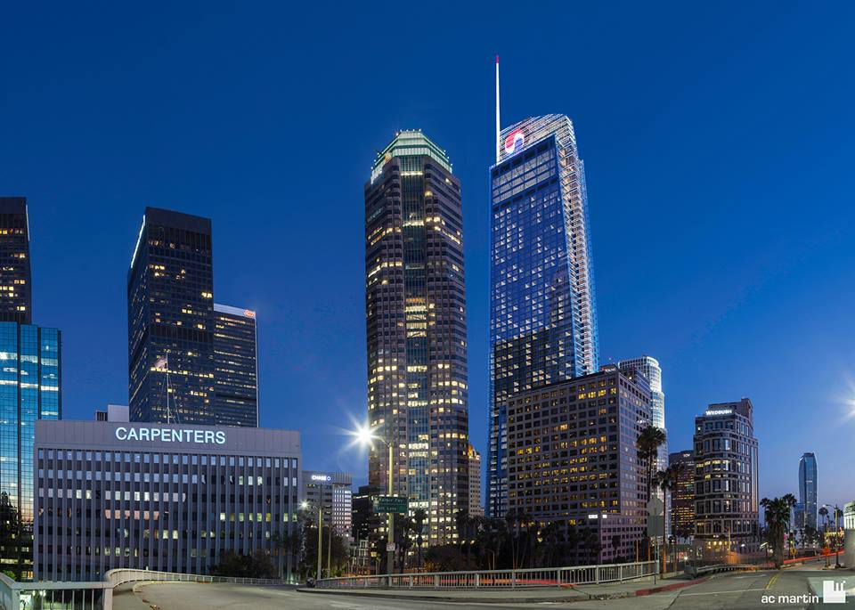 Wilshire Grand in Los Angeles