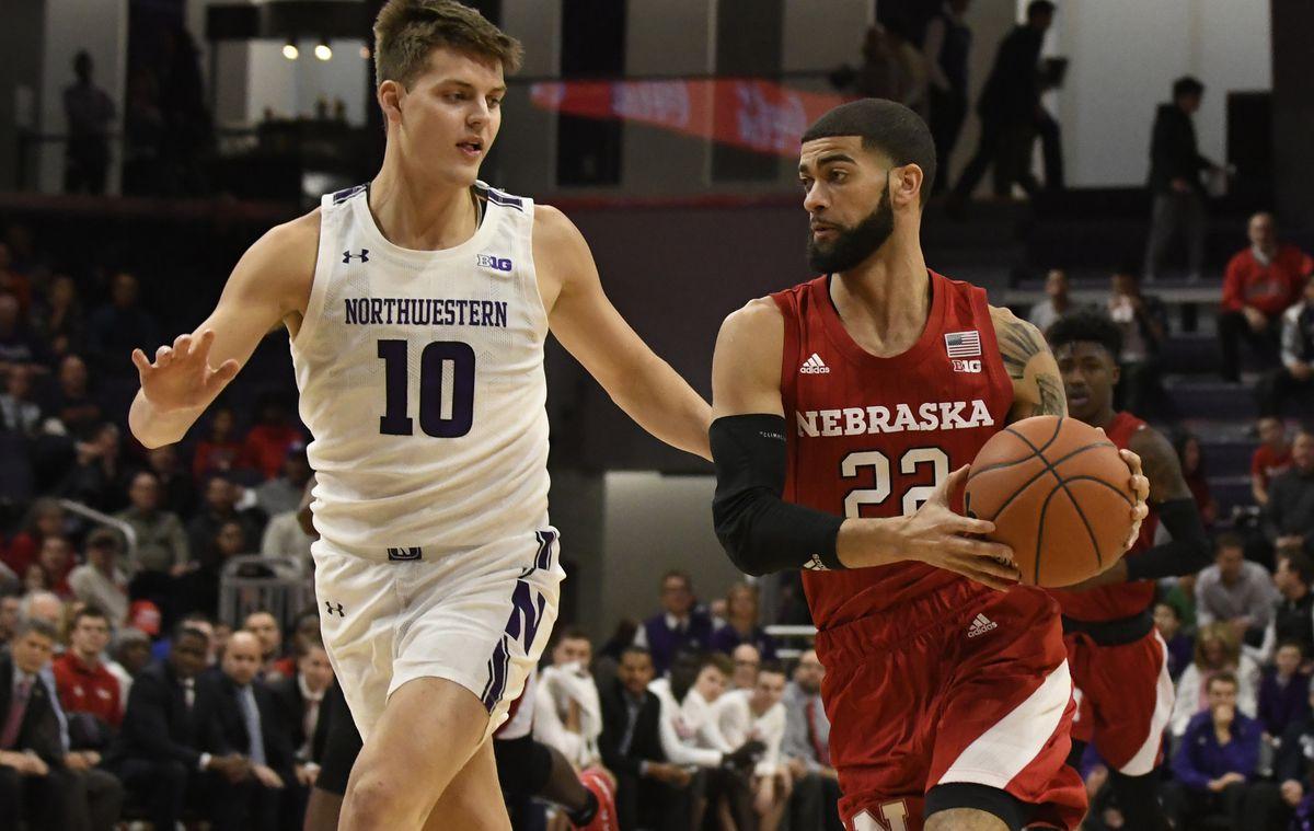 NCAA Basketball: Nebraska at Northwestern