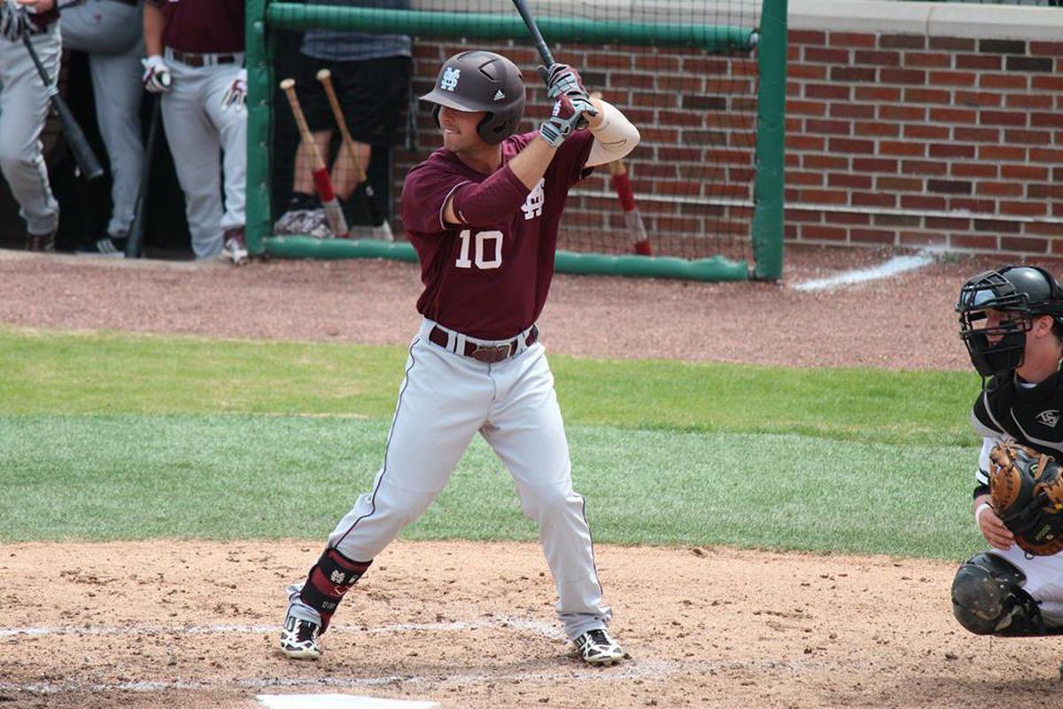 Senior C.T. Bradford was a driving force in the MSU sweep this weekend