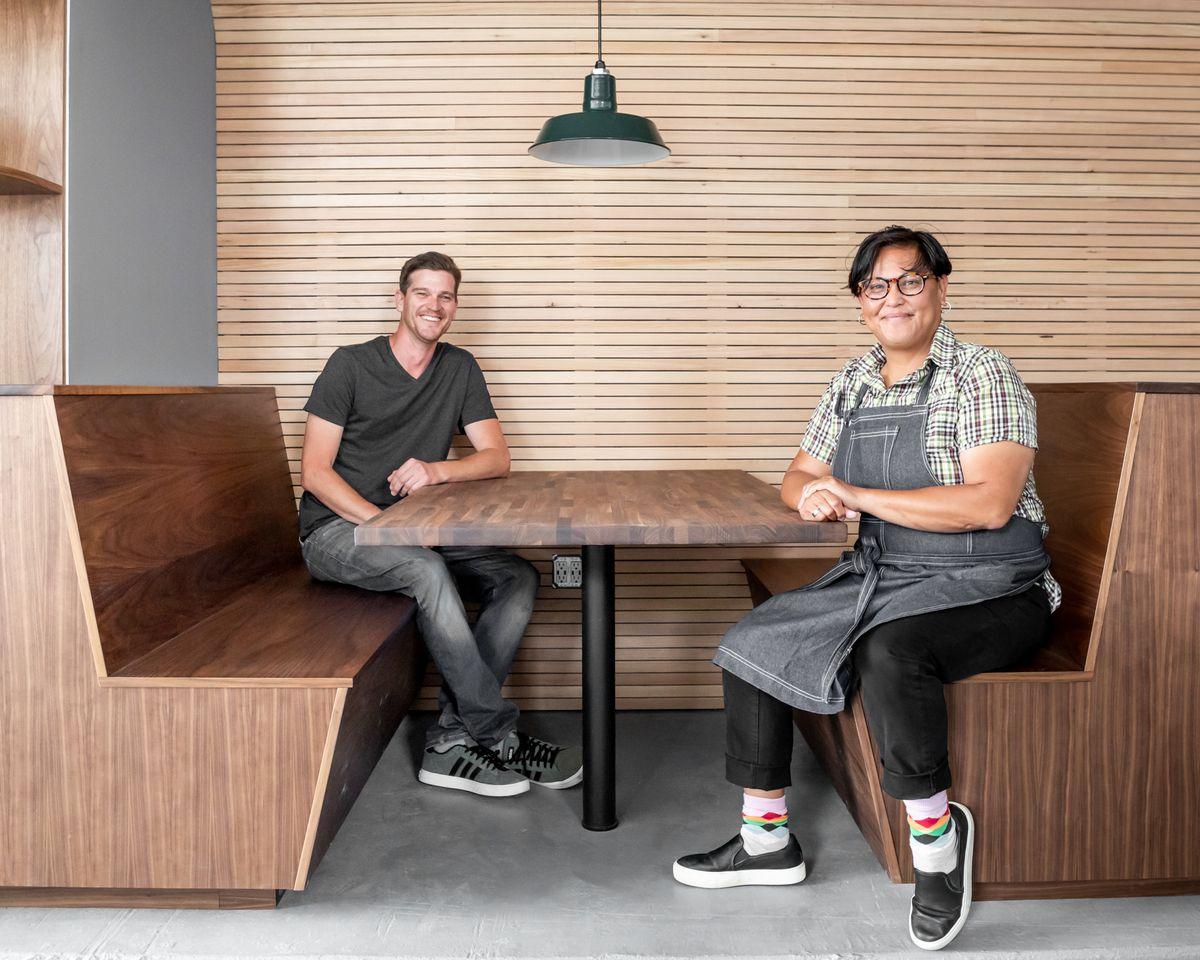 Christian Ritter and Maricar Lagura of Noe Cafe