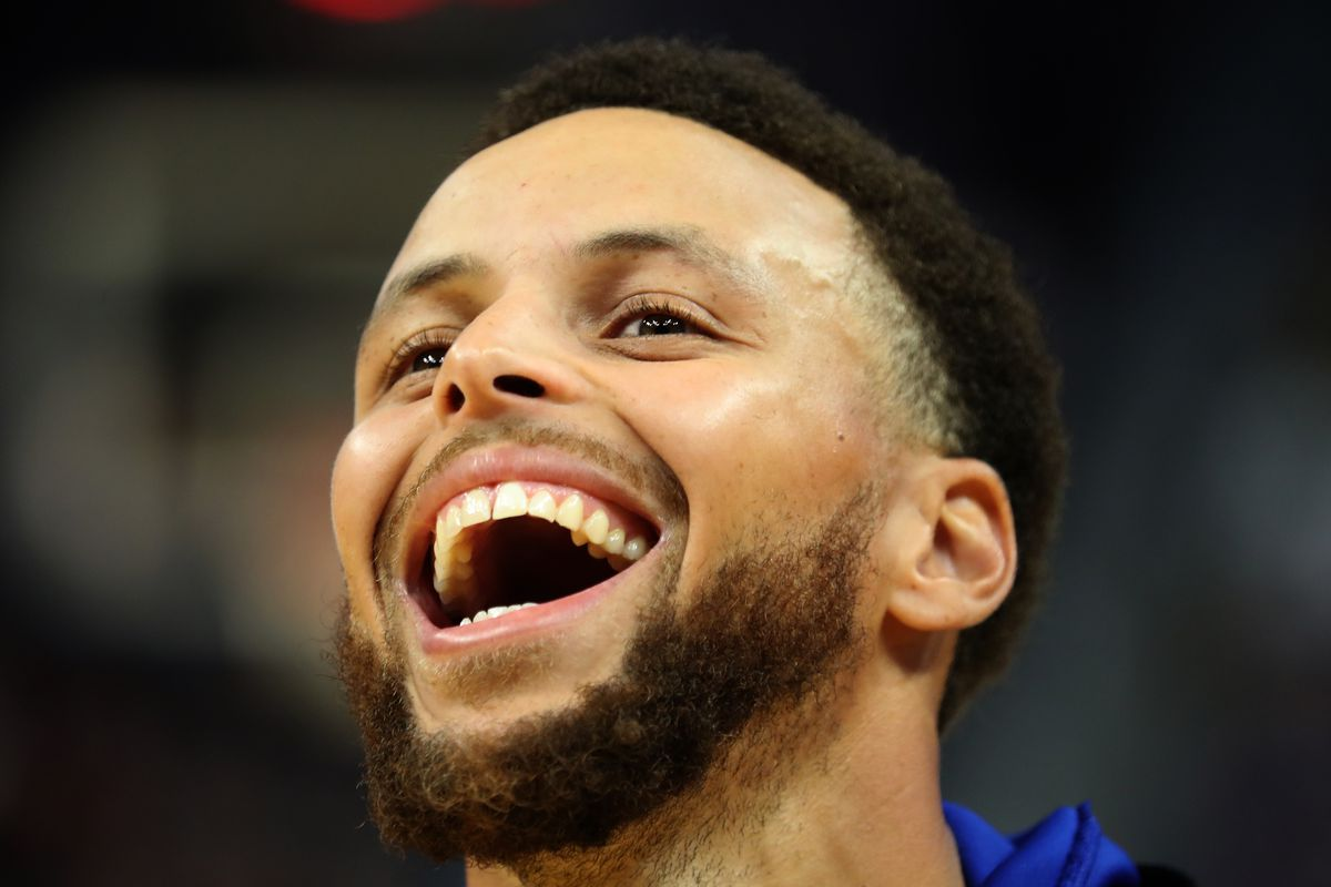 The Warriors record when Steph Curry scores 40 is ridiculous