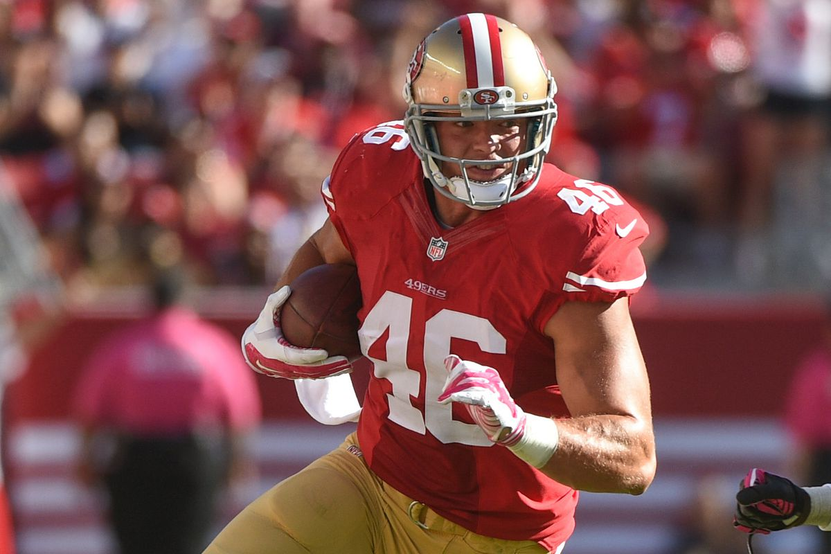 34ffd52d7 Report  Redskins Trade 5th Round Pick to 49ers for TE Derek Carrier ...