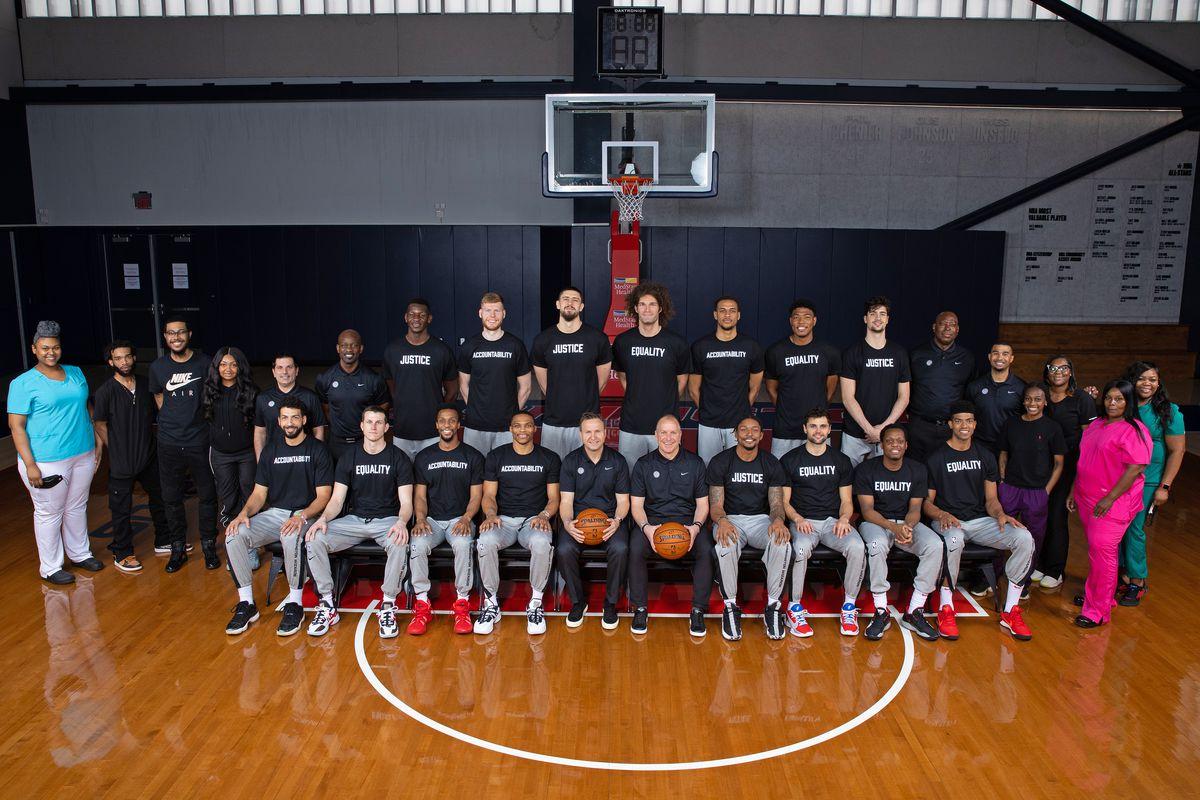 2020-21 Washington Wizards Team Photo