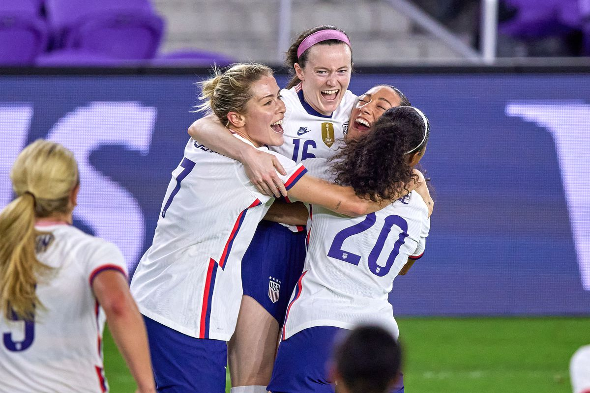 SOCCER: FEB 18 SheBelieves Cup - USA v Canada