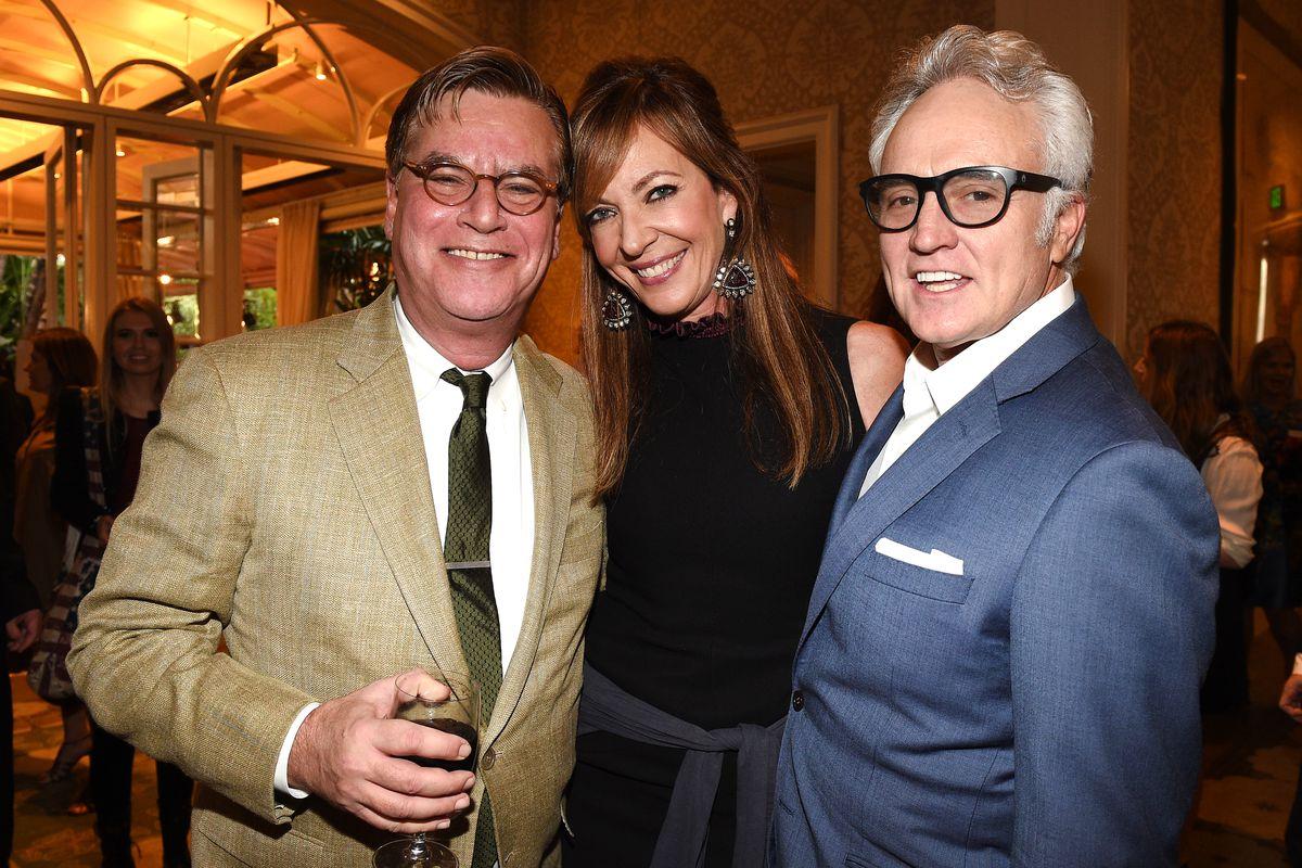 Aaron Sorkin, Allison Janney, and Bradley Whitford