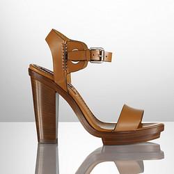 "Leetal sandals, $227 (were $650) via <a href="" http://www.ralphlauren.com.au/en/women/polo/shoes-55/calfskin-leetal-sandal-291988/292999?country=AU&currency=AUD"">Ralph Lauren</a"