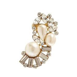 "<b>Guess</b> Pearl-Bead and Gold-Tone Ear Cuff, <a href=""http://shop.guess.com/en/Catalog/View/women/jewelry/earrings/pearl-bead-and-gold-tone-ear-cuff/ER-15418#.Uua4QmQo5dh"">$35</a>"