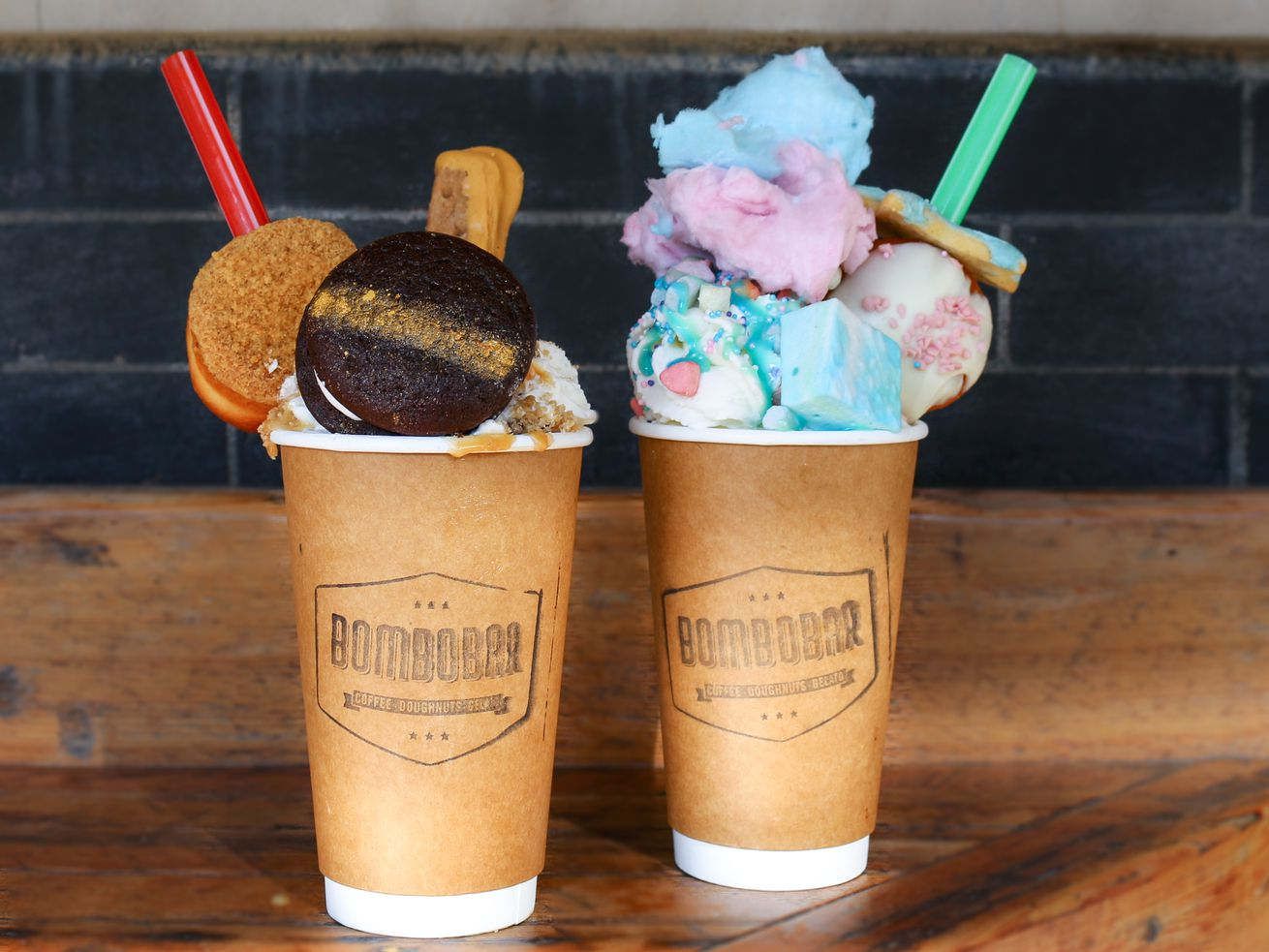 Hot chocolates with crazy garnishes are part of BomboBar's creed.