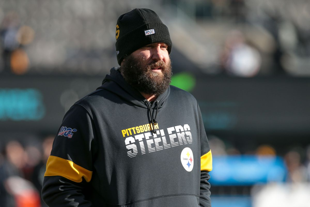Pittsburgh Steelers quarterback Ben Roethlisberger before the game against the New York Jets at MetLife Stadium.
