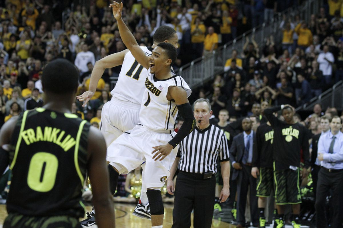 How far can the Big XII champion Tigers make it in the dance?  (Photo by Ed Zurga/Getty Images)