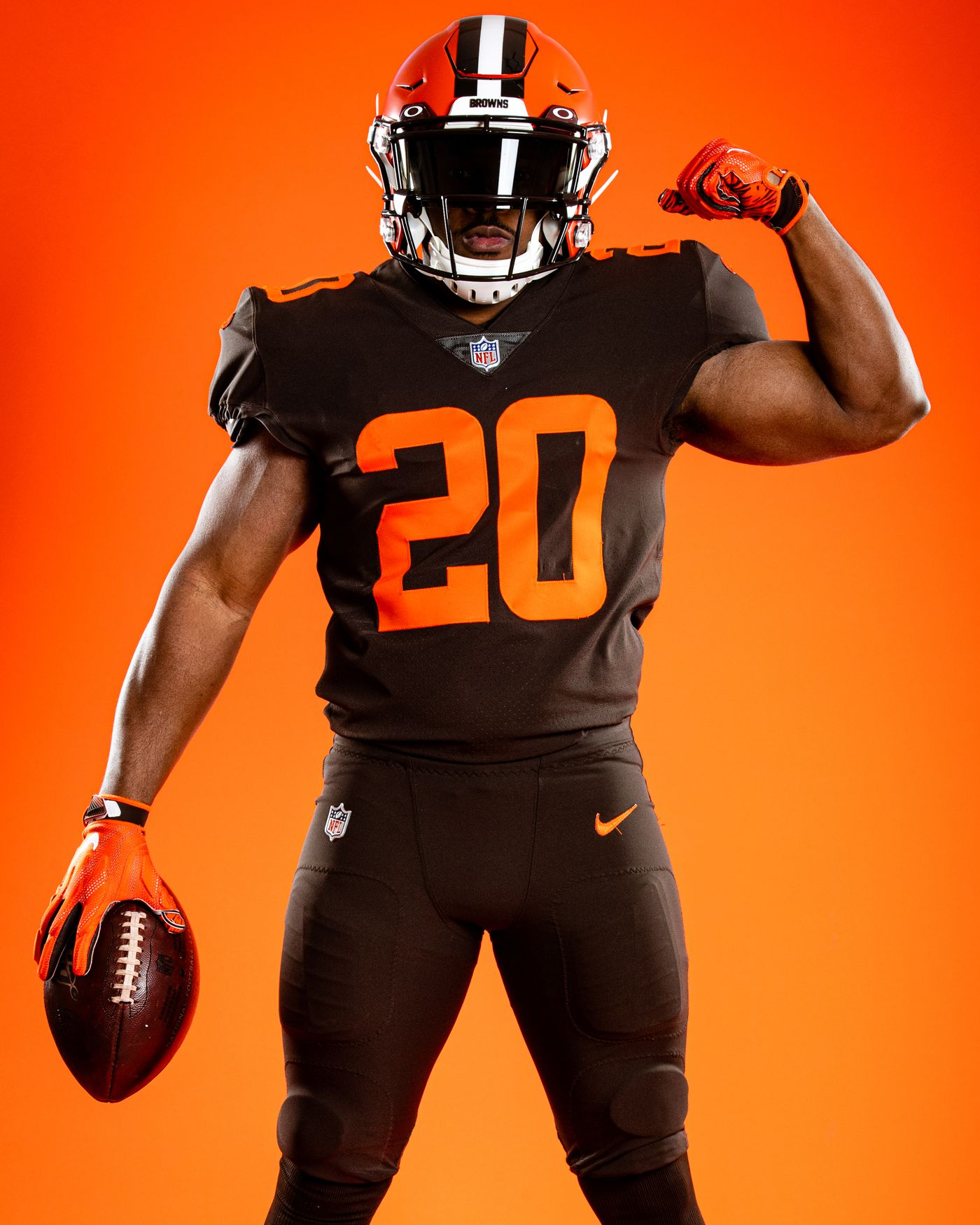 Cleveland Browns Reveal New 2020 Uniforms - Back to Basics - Dawgs ...