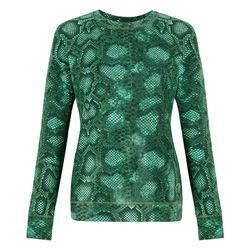 Sweatshirt in Green Python Print, $29.99 (Target.com Exclusive)