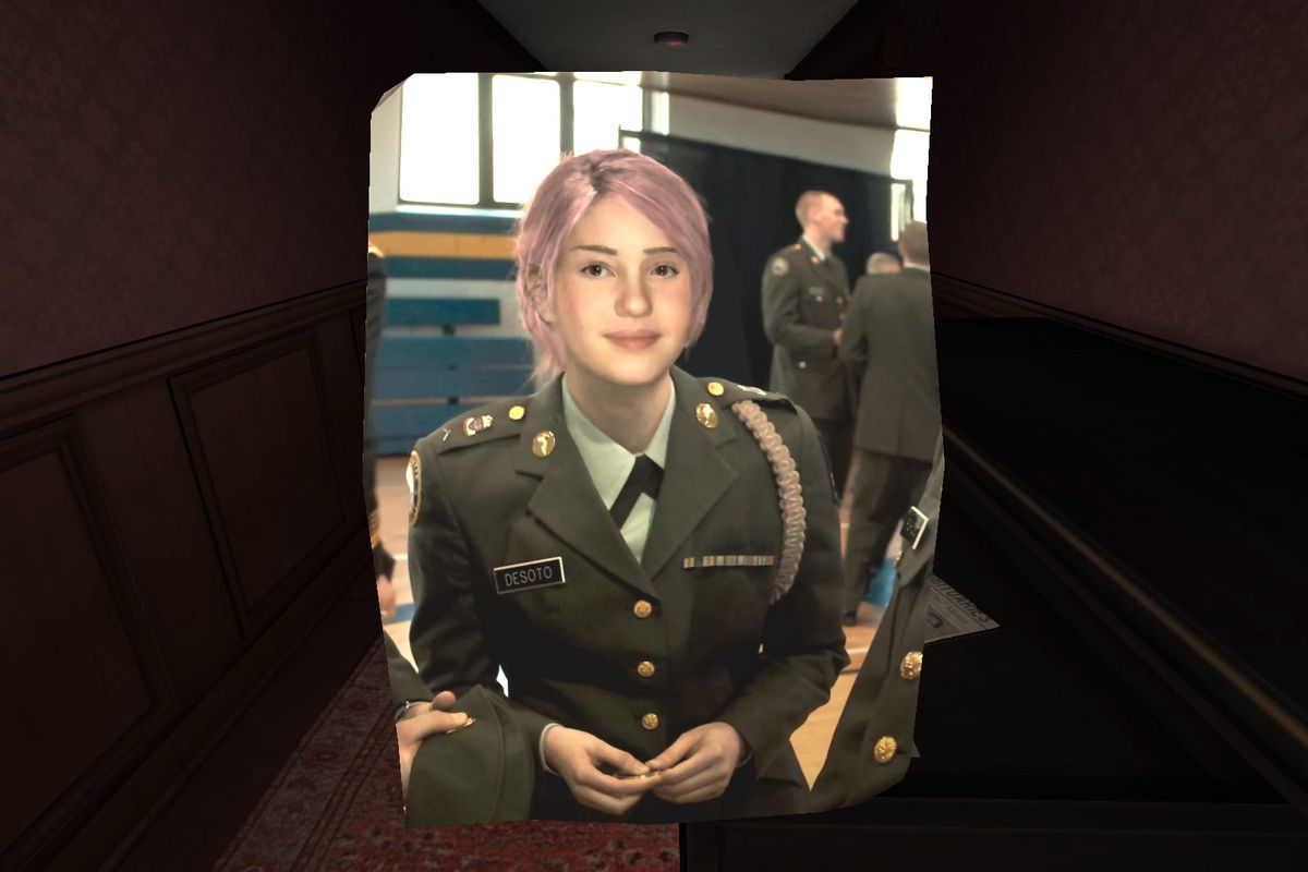 A photo of Lonnie from Gone Home