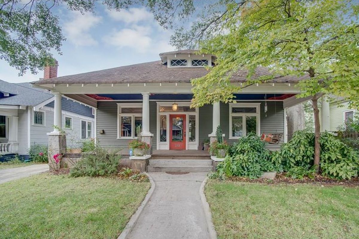 A Candler Park craftsman bungalow for sale right now.