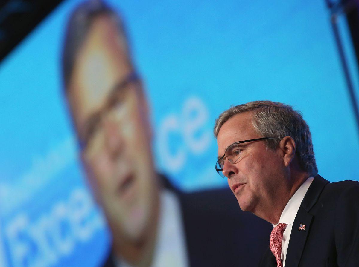 Jeb Bush giving keynote at FEE event