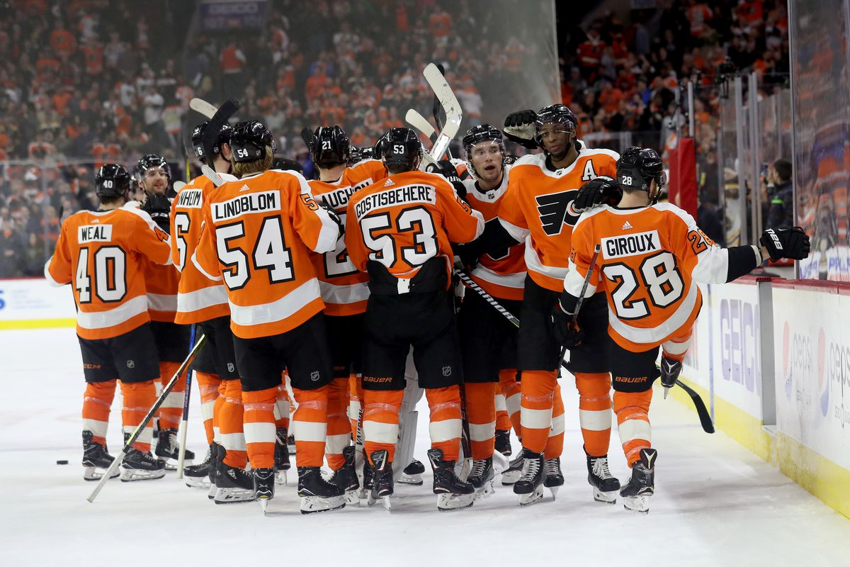 the philadelphia flyers have clinched a spot in the 2018 stanley cup