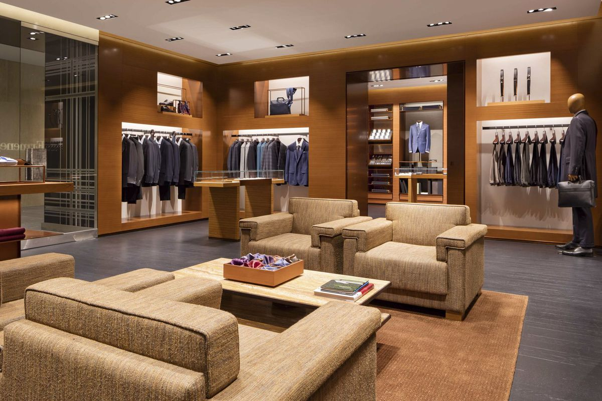 Zegna's Brookfield Place store