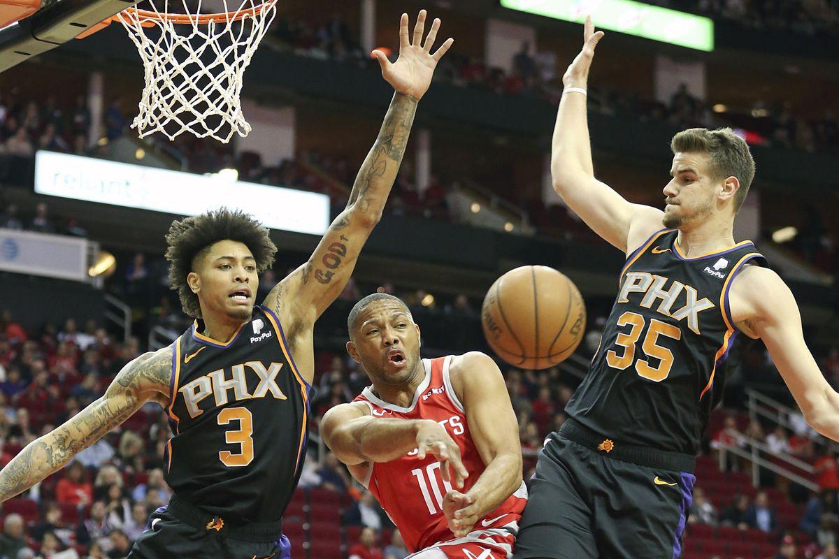 NBA: Phoenix Suns at Houston Rockets