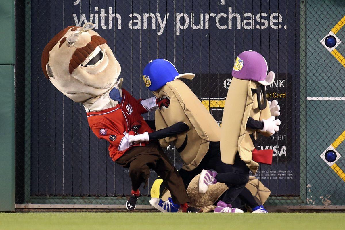 Pierogi Pete kicking Teddy's ass
