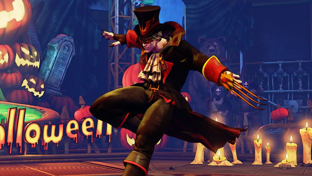 Street Fighter 5 Is Getting A Halloween Themed Update