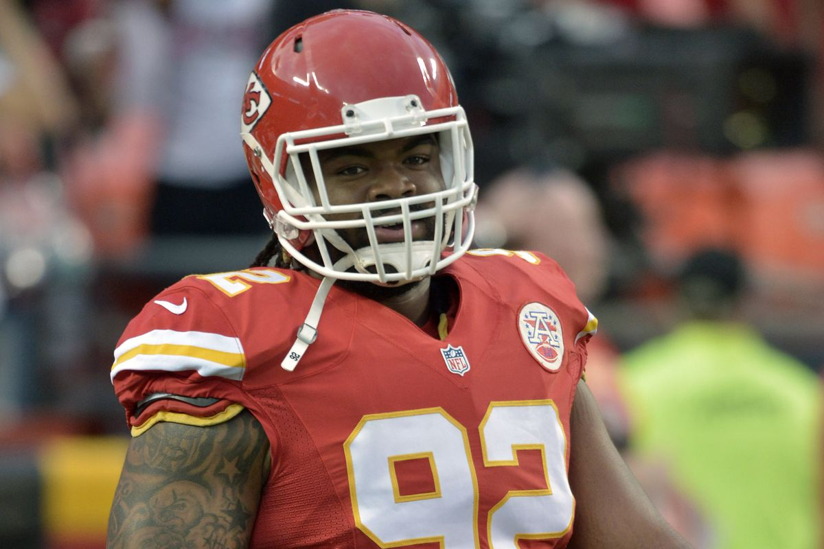 The Vikings will not be seeing big nose tackle Dontari Poe on Sunday when they face off against the Chiefs.