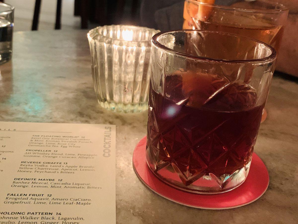 Abigail Hall cocktails
