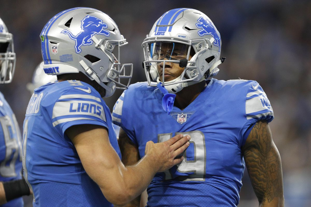 the best attitude 6c371 080bd Who is Kenny Golladay, the Lions' rookie wide receiver ...