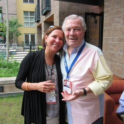 Elizabeth Woessner and Jacques Pepin