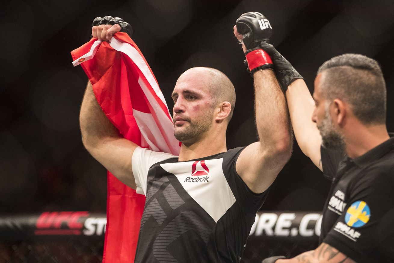 UFC 214's Volkan Oezdemir: I'm going to knock Jimi Manuwa out in the first round