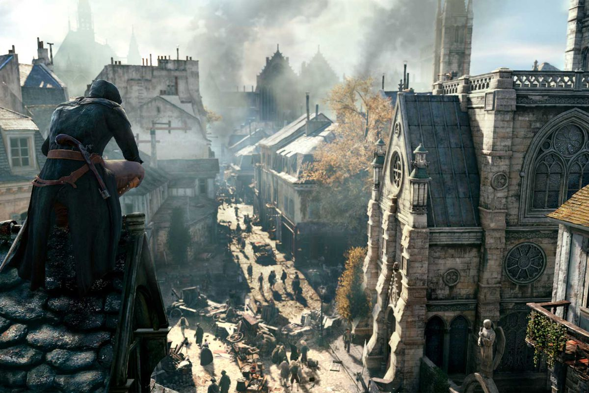 It took an assassin 39 s creed unity dev two years to recreate the notre dame cathedral polygon - Assassin s creed pictures ...