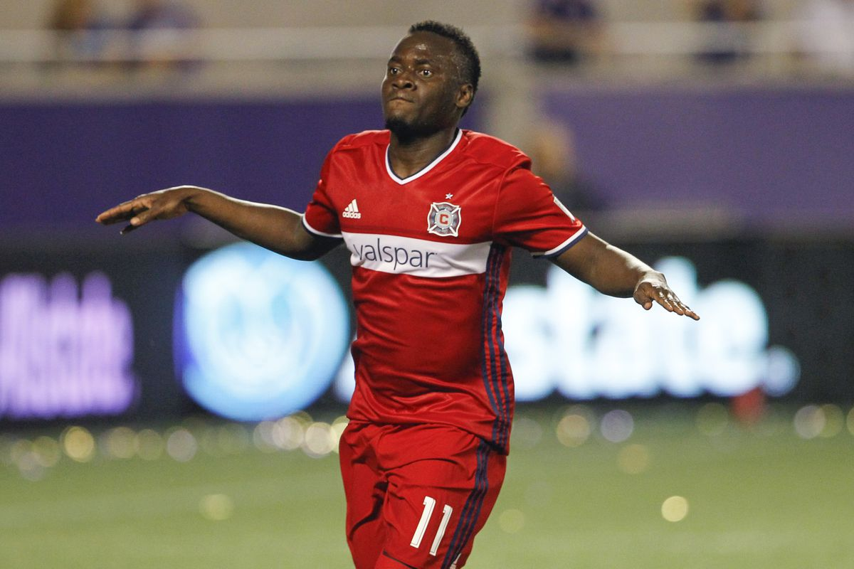 David Accam is a Designated Player for Chicago Fire