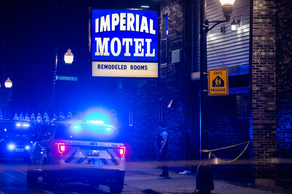 One man was killed and another was wounded in a Fernwood shooting.