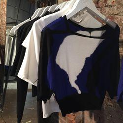 Ohne Titel Intarsia Sweater ($90)