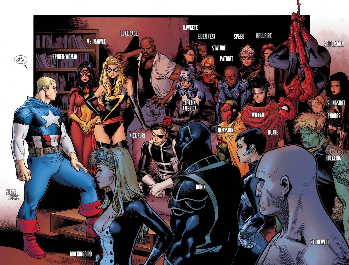 Siege #2, Marvel Comics (2010).