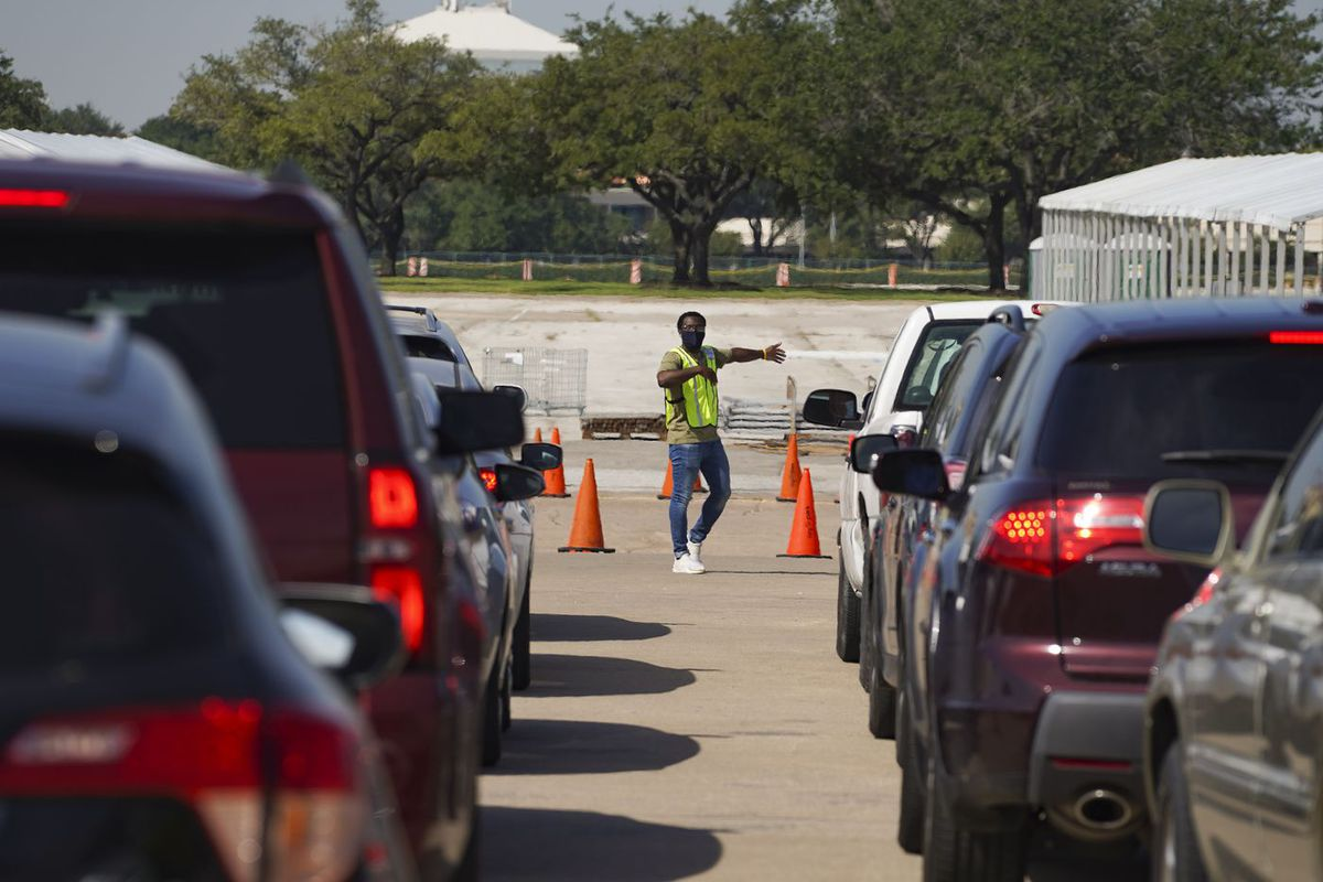 Texas Drive-Thru Voting