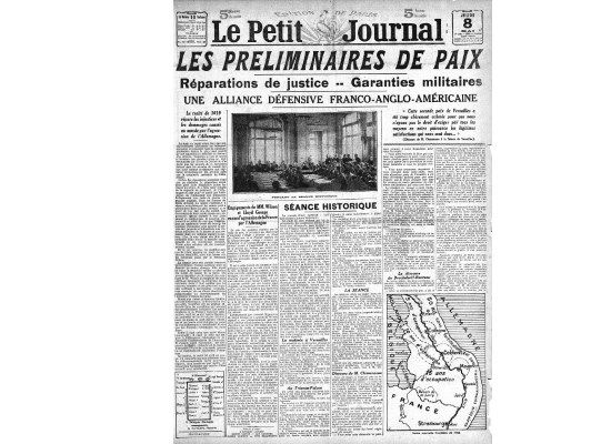Even in the sponsoring paper, Le Petit Journal, news of the Tour of the Battlefields was pushed off the front page by a breakthrough in the peace talks.