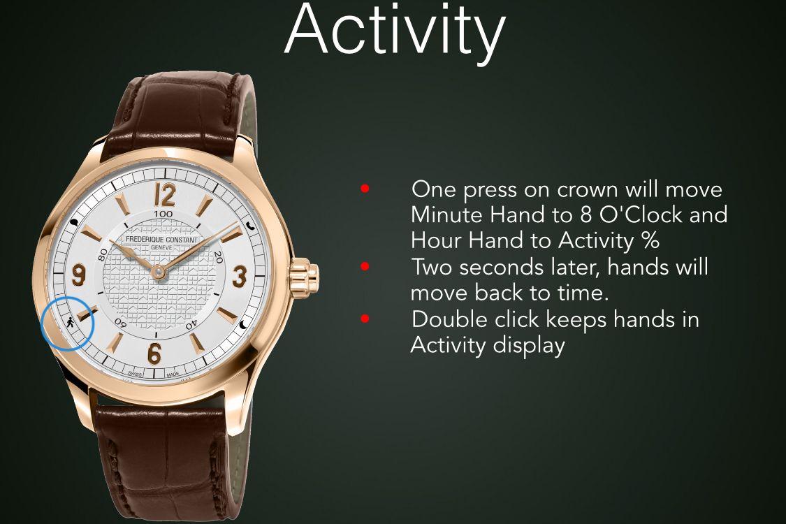 Frederique Constant Horological Smartwatch 2016 Edition